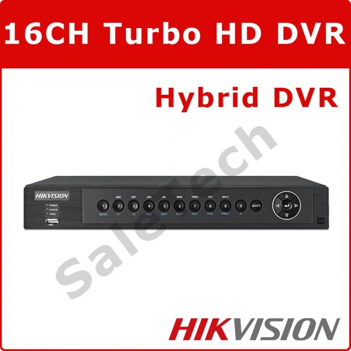 Hikvision 16 Channel DVR DS-7616HUHI-F2-N