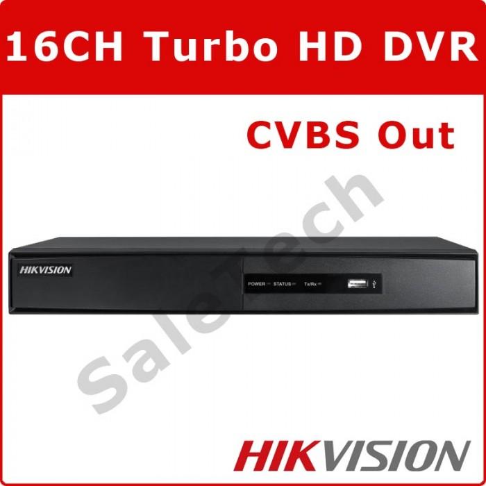 Hikvision 16 Channel DVR DS-7216HQHI-F2-N